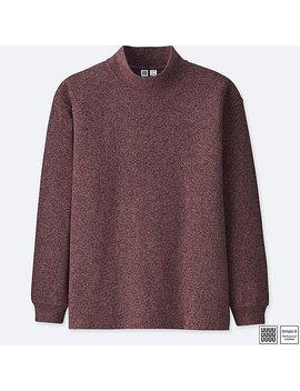 Men U Oversize Mock Neck Long Sleeve T Shirt by Uniqlo