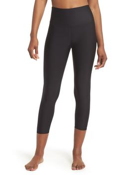 Airbrush Tech Lift High Waist Capris by Nordstrom