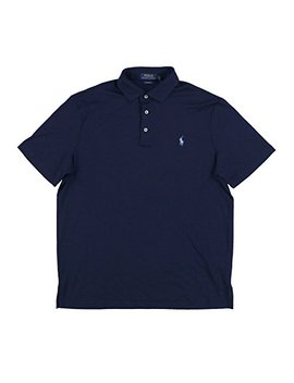 Polo Ralph Lauren Men's Classic Fit Pony Logo Striped Polo Shirt by Polo Ralph Lauren