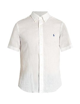 Polo Ralph Lauren Men's Linen Button Down Shirt by Ralph Lauren
