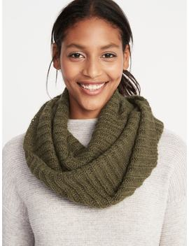 Rib Knit Infinity Scarf For Women by Old Navy
