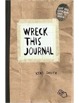 Wreck This Journal (Paper Bag) Expanded Ed. Reprint Edition By Smith, Keri [2012] by Amazon