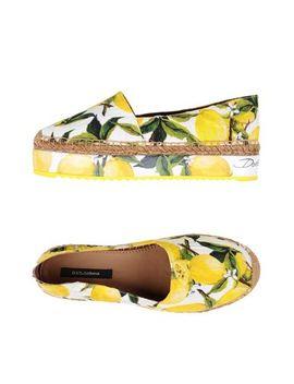 Dolce & Gabbana Espadrilles   Footwear by Dolce & Gabbana