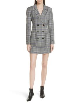 Lucas Suiting Double Breasted Wool Blend Dress by Nordstrom