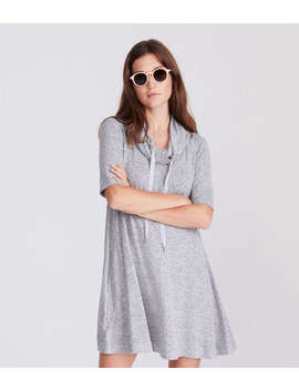Lou & Grey Drawstring Cowl Dress by Loft