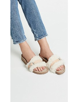 Carmen Shearling Sandals by Birkenstock
