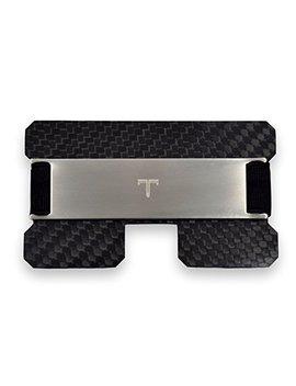 Tribe Carbon Fiber Rfid Blocking Minimalist Card Wallet by Tribe