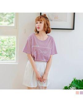 Orange Bear   Short Sleeve Print T Shirt by Orange Bear