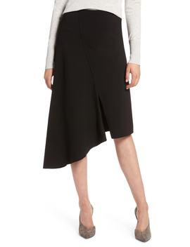Asymmetrical Ponte Skirt by Nordstrom