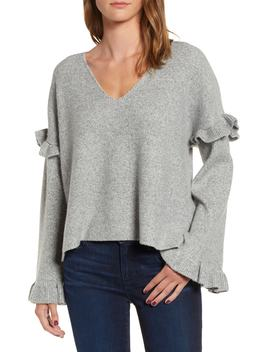 Ruffle Slouchy Sweater by Nordstrom