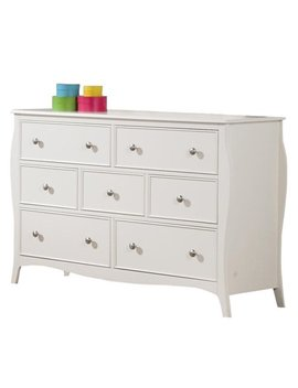 Coaster Company Dominique Youth Collection Dresser, White by Coaster Company
