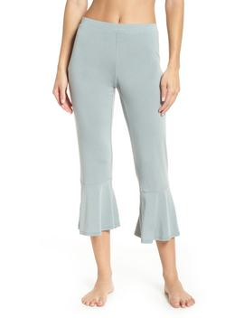 Aden Ruffle Hem Lounge Pants by Nordstrom