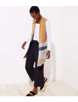 Colorblock Pocket Sweater Vest by Loft