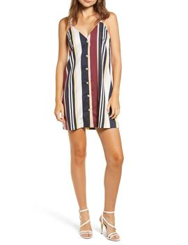 Sleeveless Stripe Minidress by Nordstrom