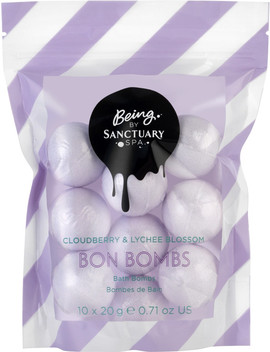Cloudberry & Lychee Blossom Bon Bombs by Being