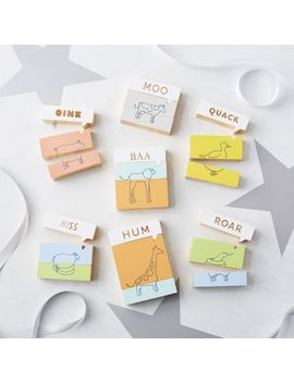 Mix And Match Animal Blocks by Crate&Barrel