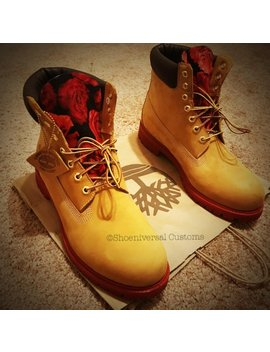 20 Percents Off Everything Rose Timberland Boots by Shoeniversal Customs