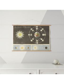 Phases Of The Moon Chart by Crate&Barrel