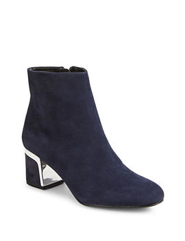 Corrie Leather Booties by Dkny