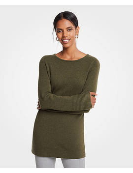 Petite Boatneck Tunic Sweater by Ann Taylor