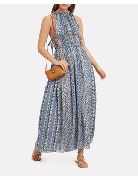 Augustine Pleated Maxi Dress by Ulla Johnson