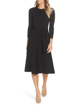 Fit & Flare Sweater Dress by Nordstrom