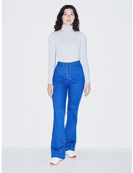 The Button Flare Jean by American Apparel