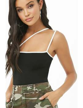 One Shoulder Cami Bodysuit by Forever 21
