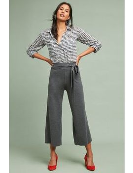 Michael Stars Belted Wide Leg Pants by Michael Stars