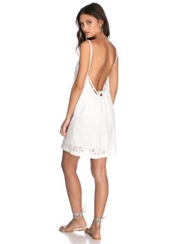 שמלת עיטורי רקמה אנטוני גב חשוף by Adika