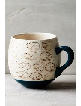 Mug Chat Neko by Leah Goren