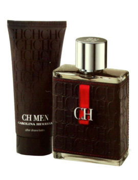 Carolina Herrera Ch Men 2 Piece Gift Set Eau De Toilette Spr 100 Ml T/P 65086810 by Carolina Herrera