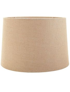 Large Burlap Lamp Shade by Pier1 Imports