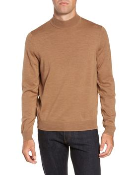 Mock Neck Merino Wool Sweater by Nordstrom Men's Shop