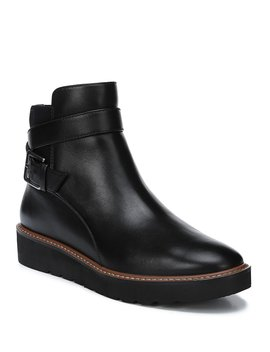 Aster Leather Short Boots by Naturalizer