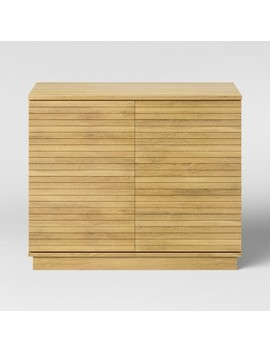 Cliffmay Slat Storage Cabinet Brown   Project 62™ by Shop Collections