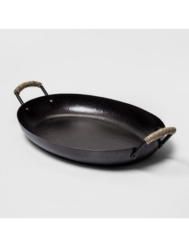 Iron Serving Tray Black   Threshold™ by Shop This Collection