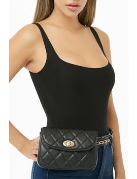 Quilted Belt Bag by Forever 21