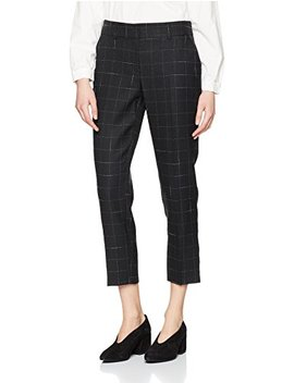 Dorothy Perkins Women's Grid Check Ankle Grazer Trousers by Dorothy Perkins