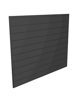 Proslat 16 Sq. Ft. Wall Storage System Pvc Slatwall   Charcoal by Proslat