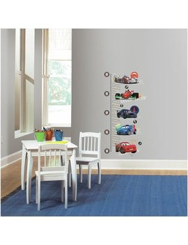 Cars 2 Peel And Stick Metric Growth Chart Wall Decals by Room Mates