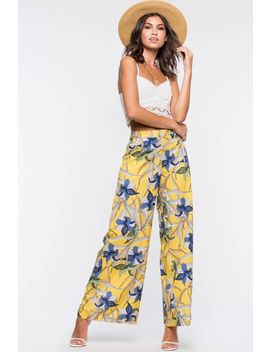 Camille Floral Trousers by A'gaci