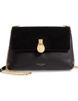Padlock Leather Crossbody Bag by Ted Baker London
