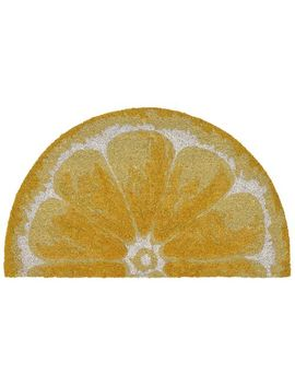 Yellow Lemon Doormat by Pier1 Imports
