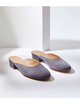 Block Heel Mules by Loft