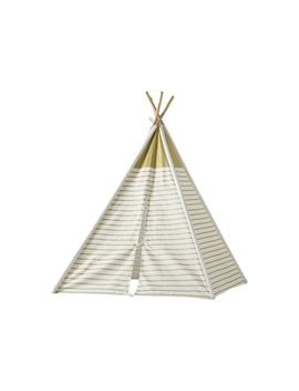 A Teepee To Call Your Own (Gold Metallic) by Crate&Barrel