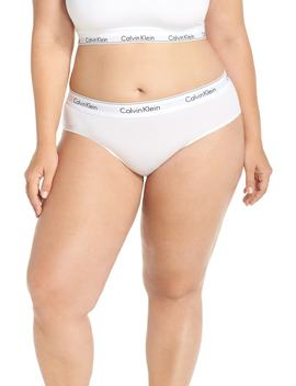 Modern Cotton Blend Hipster Briefs by Calvin Klein
