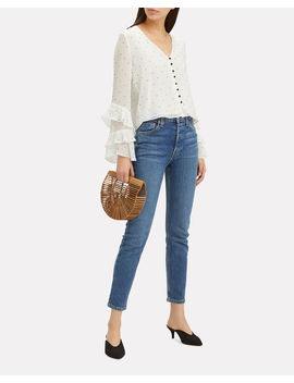 Meena Embellished Blouse by Intermix