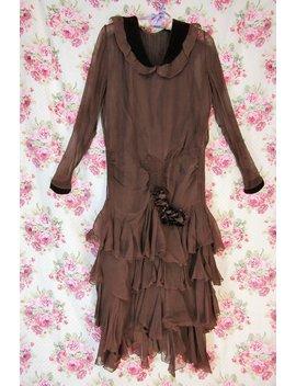 1920s Flapper Dance Dress Xs by Wild Irish Rose Vintage