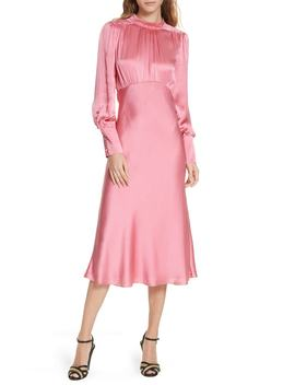 Elsie Silk Midi Dress by Veronica Beard